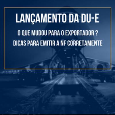 DU-E NF DE EXPORTAÇÃO DICAS KOTAH BR